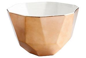 Novus Bowl, Copper/White*