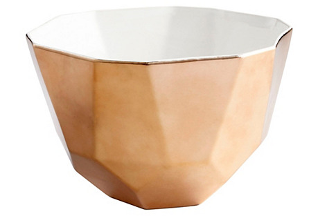 Novus Bowl, Copper/White