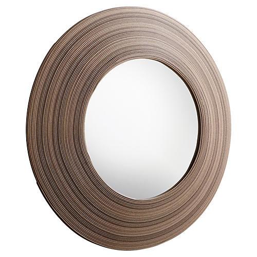 Tristian Wall Mirror, Espresso