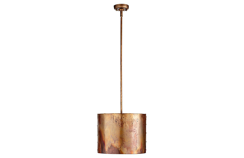 Mauviel Pendant, Copper