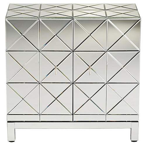 Adonis Cabinet, Mirrored