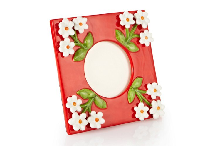 4x4 Posey Frame, Coral