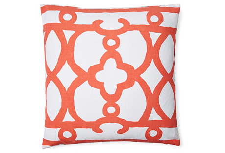 Ming Pillow, Orange