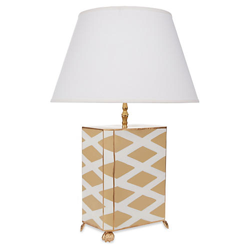 Parthenon Table Lamp, Taupe