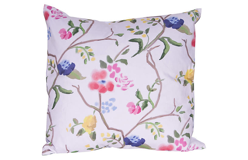 Sissinghurt 22x22 Pillow, White