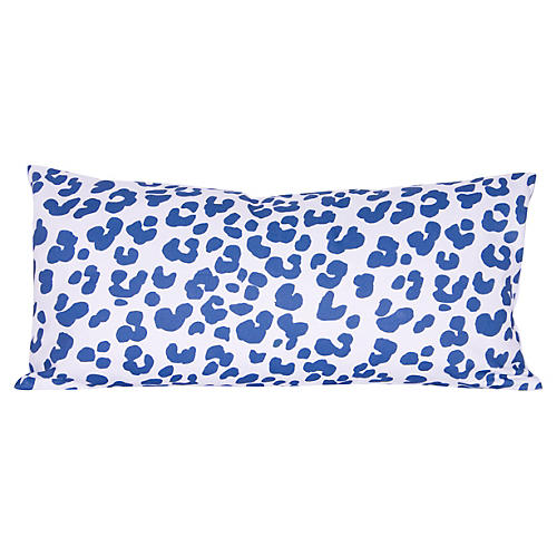 Ocelot 12x24 Pillow, Navy