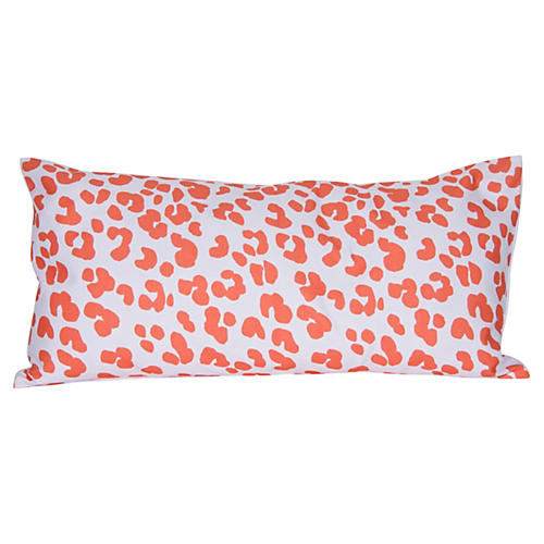 Ocelot 12x24 Pillow, Orange