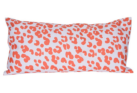 Ocelot 12x24 Pillow, Orange