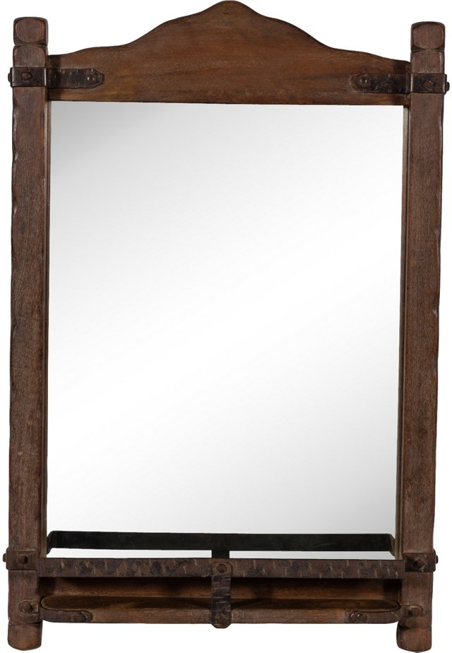 Monterey Mirror w/ Shelf