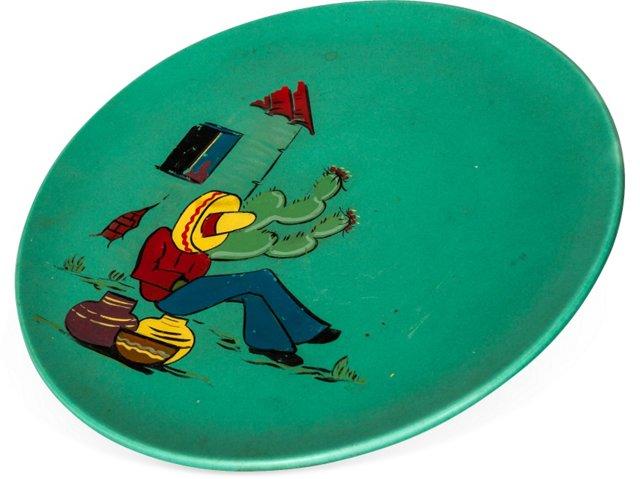 Teal Display Plate