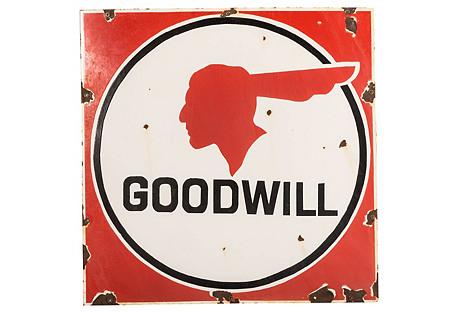 Goodwill Pontiac Sign