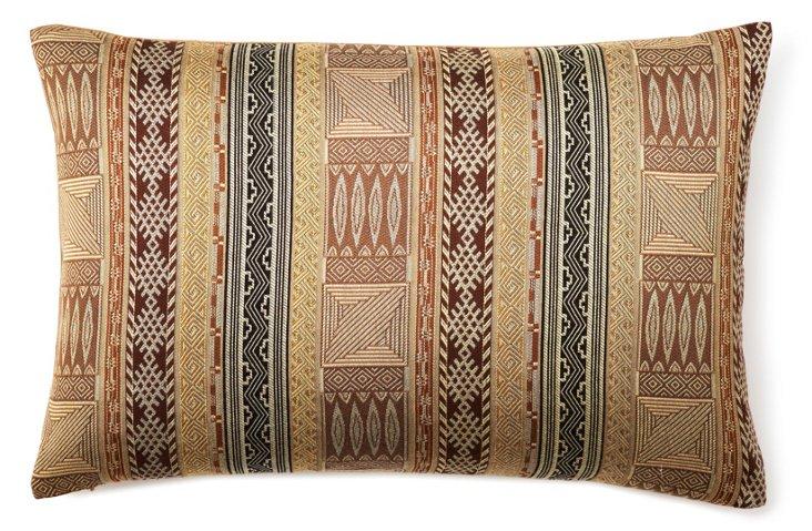 Capetown 16x24 Pillow, Brown