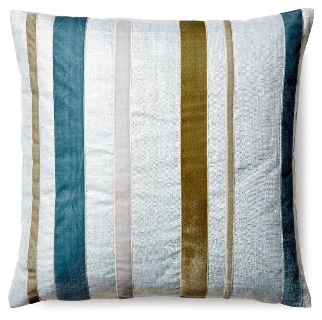 Striped Pillow, Multi