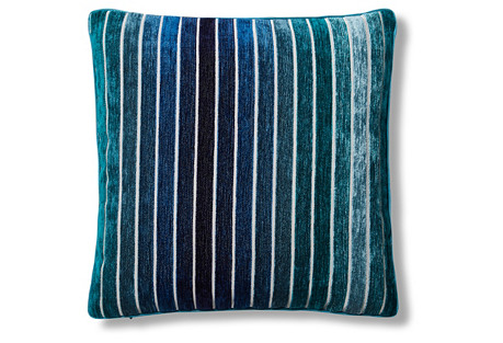 Spectrum 16x16 Pillow, Horizon Blue