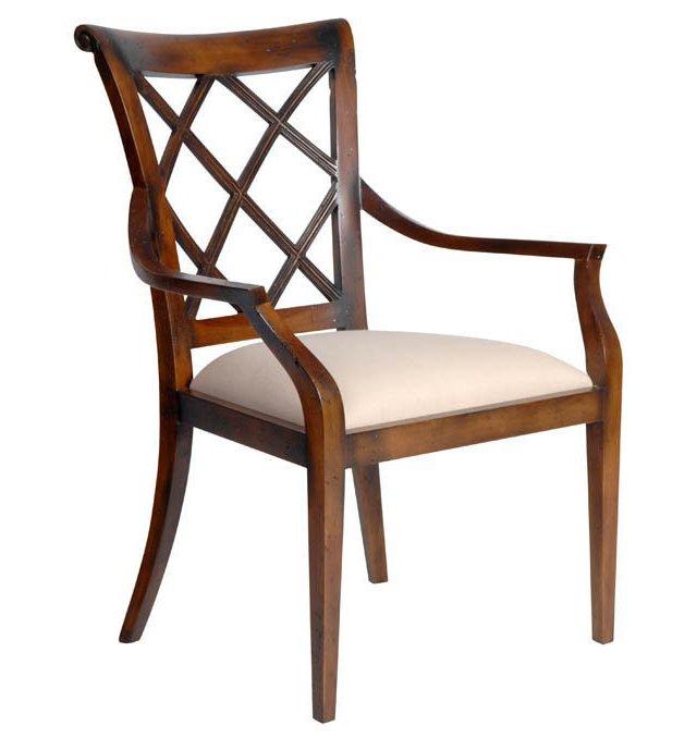 Sorrento Cotton Armchair, Beige