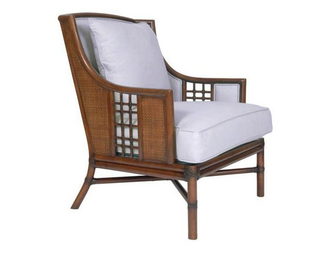 Alexandria Lounge Chair, White Smoke