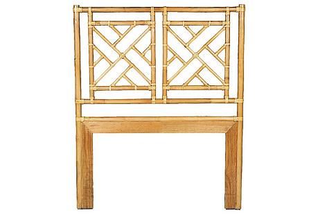 Chippendale Headboard, Bamboo