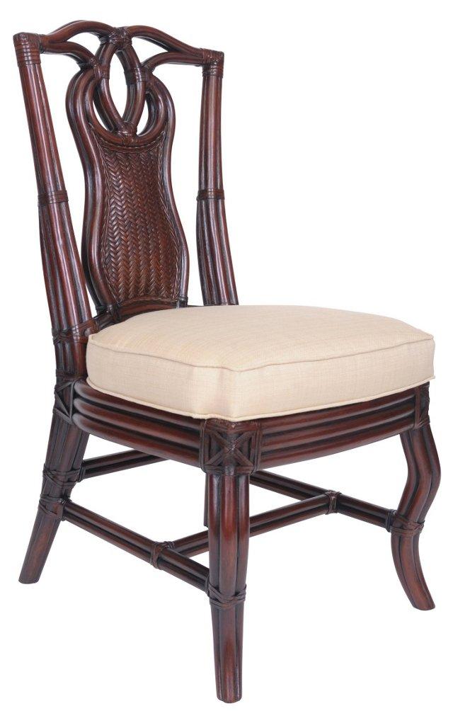 Queensland Side Chair, Straw