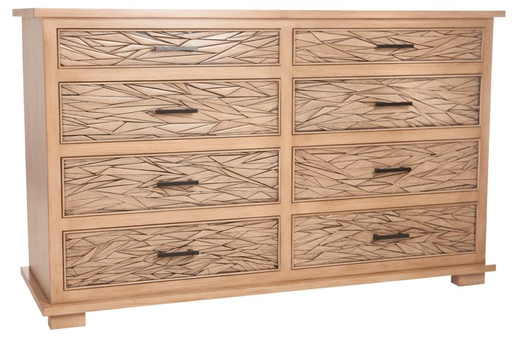 Pastiche 8-Drawer Dresser, Almond