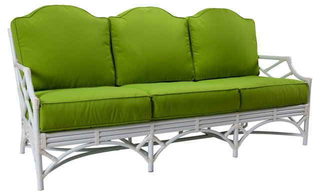 "Chippendale Outdoor 78"" Sofa"