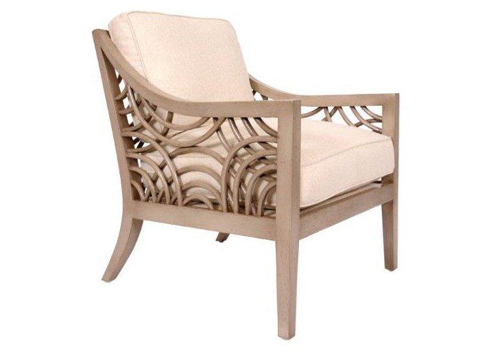 Manhattan Lounge Chair, Putty