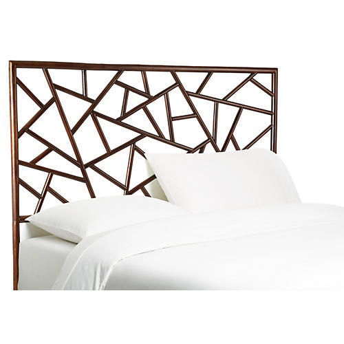 Tiffany Headboard, Dark Chestnut