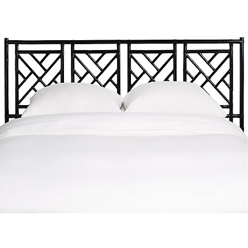 Chippendale Headboard, Black