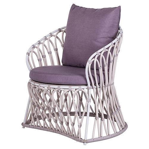 Amalfi Outdoor Lounge Chair, Dusk