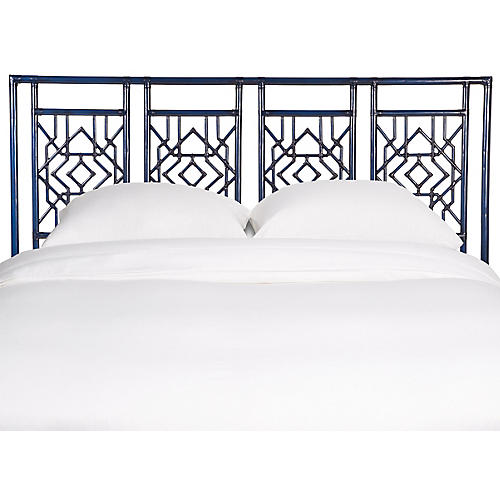 Tulum Headboard, Navy Blue
