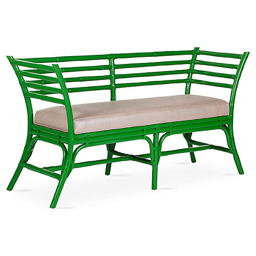 Sydney Bench, Bright Green