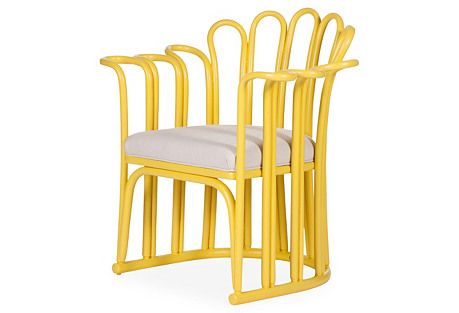 Calla Accent Chair, Sunflower Yellow