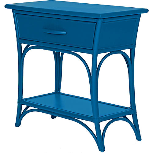 Augustine Nightstand, Pacific Blue