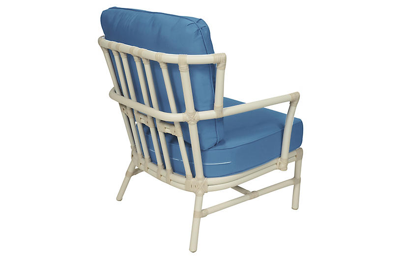 Nantucket outdoor lounge chair blue outdoor furniture for One kings lane outdoor furniture