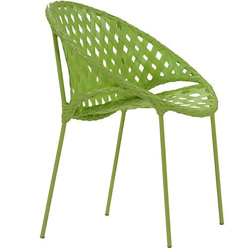 Tik-Tak Stacking Chair, Lime