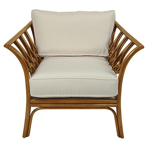 Copenhagen Club Chair, Camel Brown