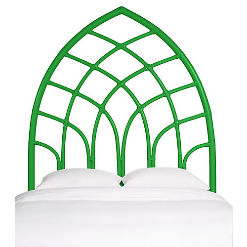 Cathedral Kids' Headboard, Green