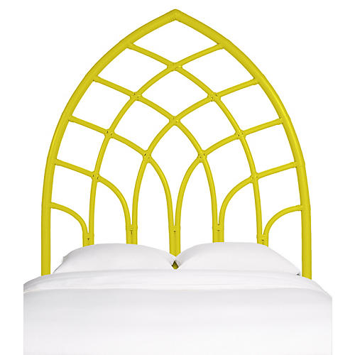 Cathedral Headboard, Sunflower Yellow