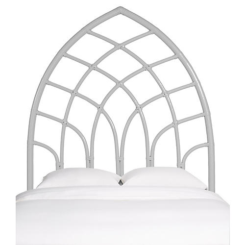 Cathedral Headboard, White