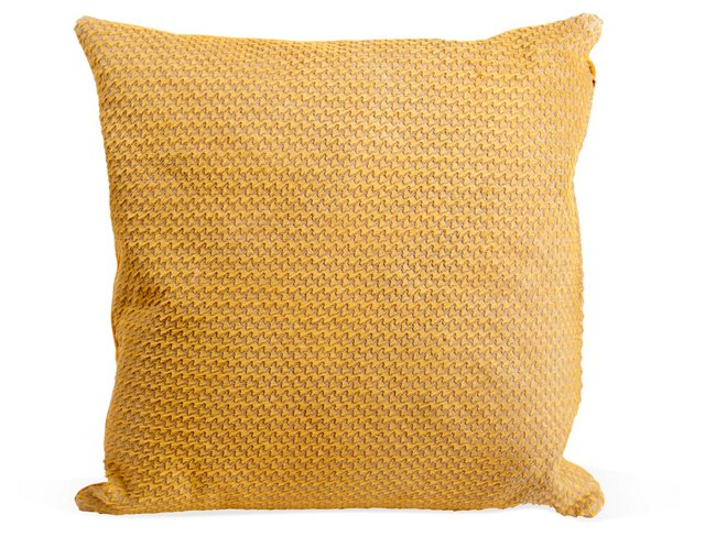 Houndstooth Horsehair Pillow