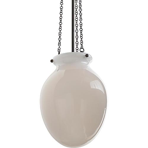 Volta Pendant, Opal/Brass