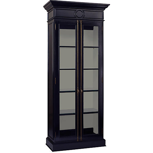 Glover Display Cabinet, Black