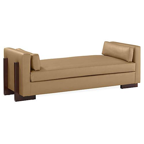 Porter Bench, Beige