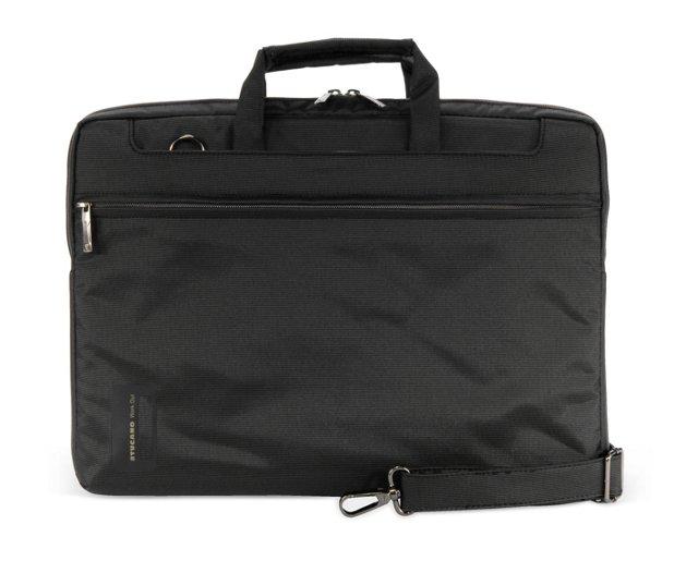 """15"""" Slim Laptop Bag, Brown"""