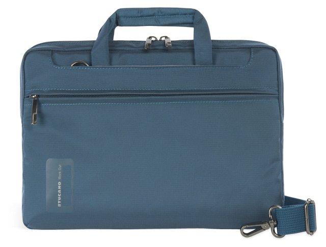 "11"" Slim Laptop Bag, Ocean Blue"