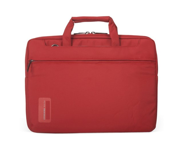 "11"" Slim Laptop Bag, Red"