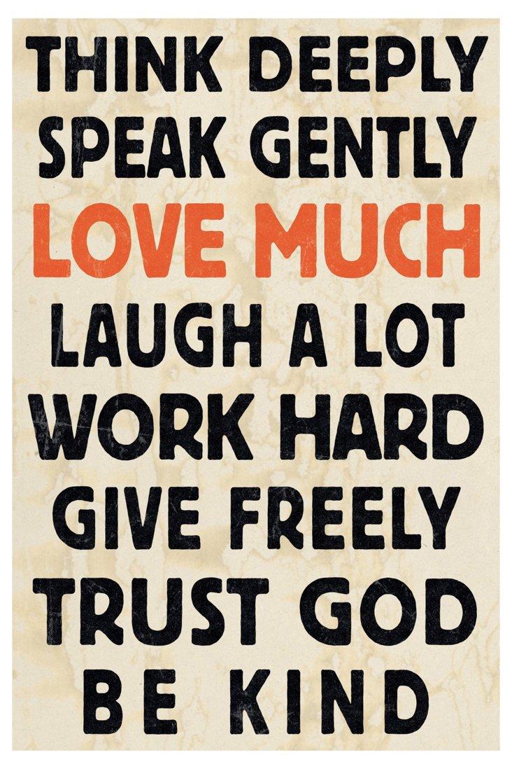 Words Of Wisdom I