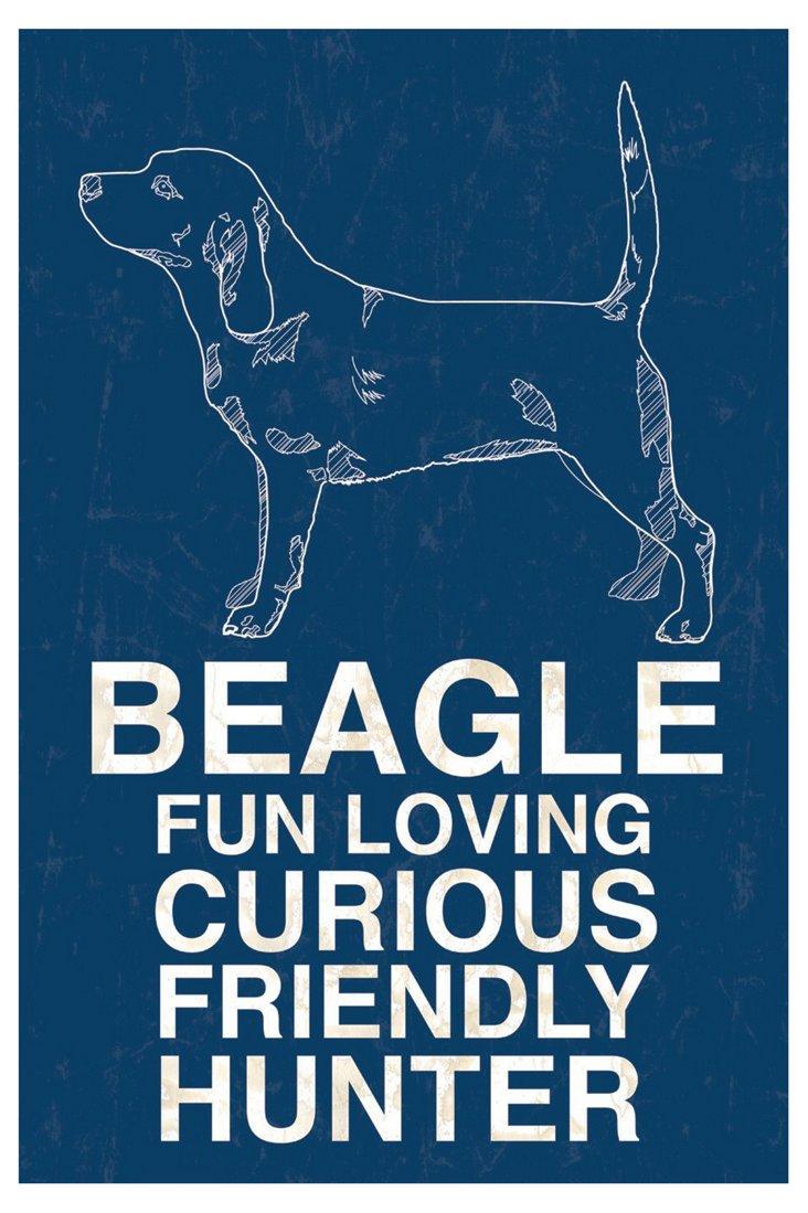 Beagle, Blue