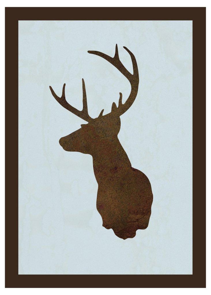 Deer Silhouette I