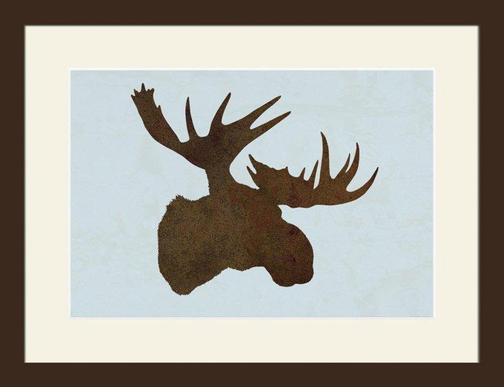 Moose Silhouette II