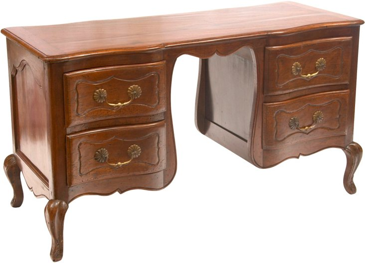 French Louis XV-Style Desk